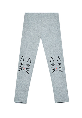 Fab Cat Knee Graphic Legging