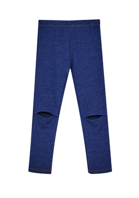 Fab Indigo Split Knee Legging