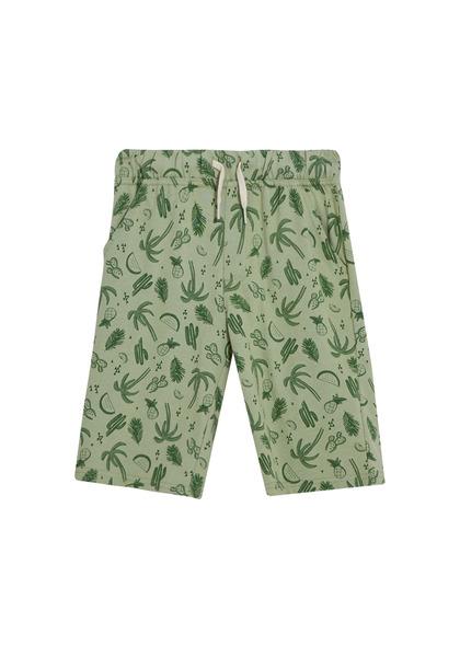 Palm Print Short