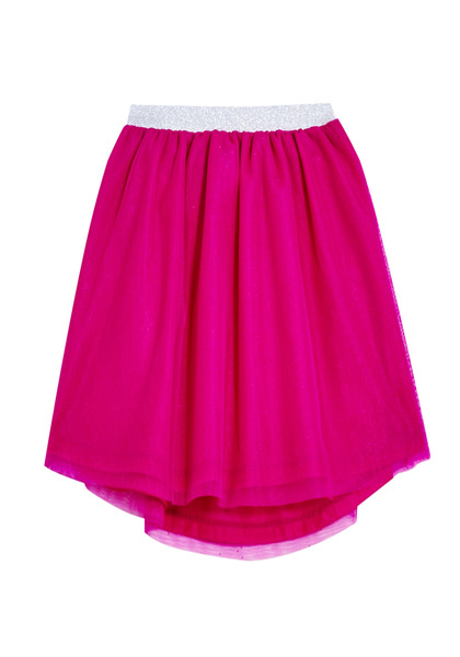 FabKids Skirts Sparkle Waist Tutu Girls Pink Size XXS On trend tutu skirt with elastic waistband and layers of tulle. Fully lined. Pair back to her favorite graphic tee or fashion knit top to complete her stylish look!