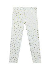 Fab Gold Star Print Legging