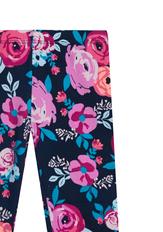 Fab Navy Floral Print Legging