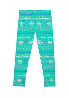 Fab Snowflake Fun Legging