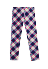 Fab Plaid Print Legging