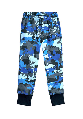 FabKids Jeans & Pants Camo Jogger Boys Beige Size XS These stylish fleece joggers are made to stand up to everyday tear while comfy enough for all-day wear. Features cargo pockets, elastic waistband, and wide-cuffed pant legs for perfect fit. Loose fit around hips and skinny at ankle.