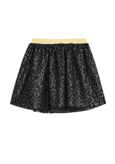 Glitter Leopard Tulle Skirt