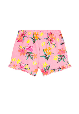 Floral Ruffle Shorts