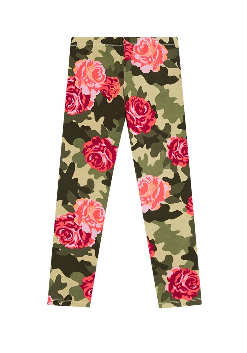 Fab Floral Camo Legging