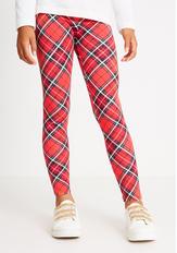 Fab Holiday Plaid Legging