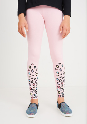 Fab Leopard Ankle Legging