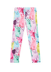 Fab Colorful Cat Legging