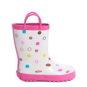Polka Dots Rainboot