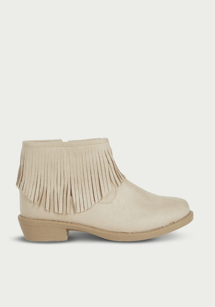 Fab Fringe Ankle Boot