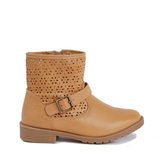 Perforated Bootie