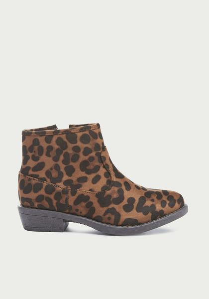 Leopard Ankle Bootie