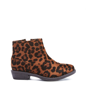 Leopard Ankle Bootie