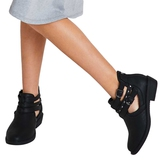 Studded Buckle Bootie