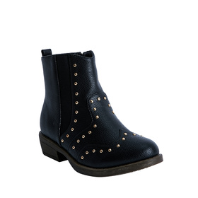Studded Western Bootie