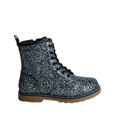 Glitter Lace Up Boot
