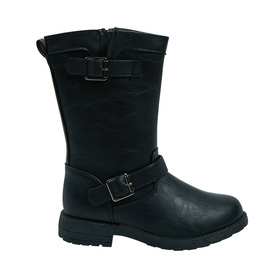 Tall Buckle Boot