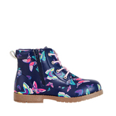 Butterfly Lace Up Bootie