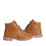 Sherpa Lined Lace Up Boot