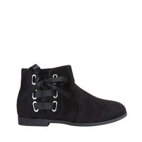 Side Tie Ankle Bootie