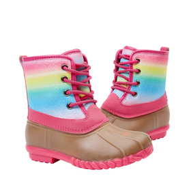Photo of Rainbow Lace Up Boot