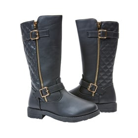 Photo of Quilted Tall Moto Boot