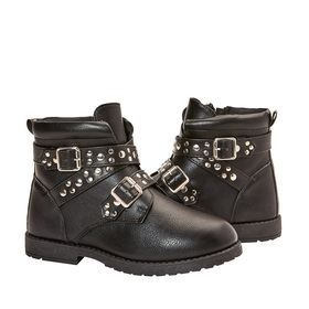 Photo of Studded Strap Moto Boot