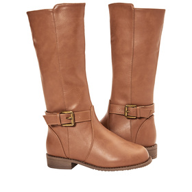 Photo of Tall Buckle Riding Boot