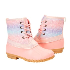 Photo of Glitter Lace up Boot