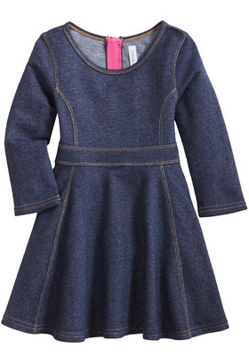 Knit Denim Dress