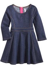 Knit Denim Dress
