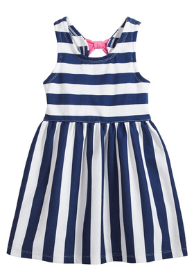 Nautical Bow Back Dress