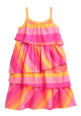 Tiered Stripe Dress