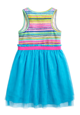 Summer Stripe Tutu Dress