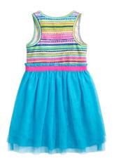 Summer Stripe Tutu Dress