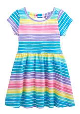 Stripe Bow Back Dress