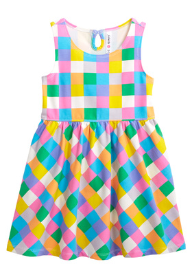 Pixel Twirly Dress