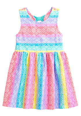 Rainbow Lace Dress