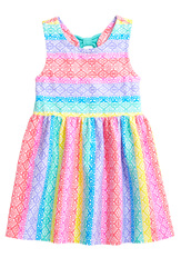 Rainbow Lace Dress