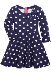 Hearts & Bow Skater Dress