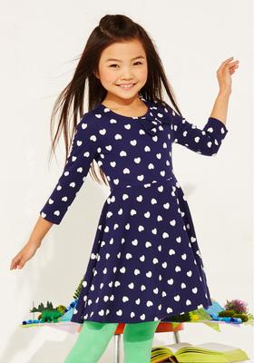 Hearts & Bow Skater Dress