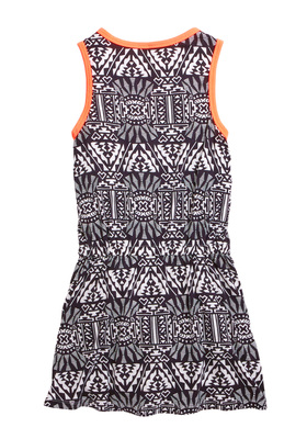 Black Tribal Tank Dress
