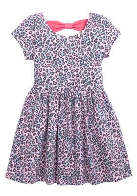 Leopard Bow Back Dress