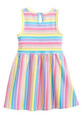 Candy Stripe Skater Dress