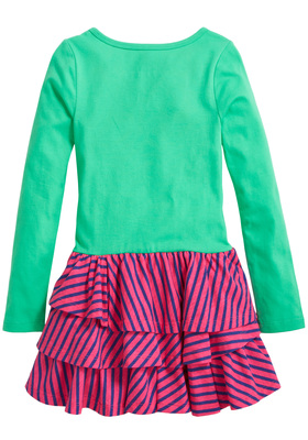 Sparkle Star Ruffle Dress