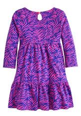 Zebra Babydoll Dress