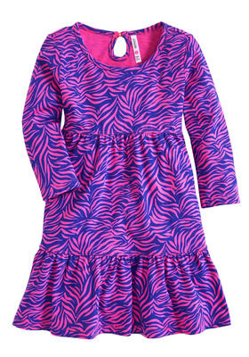 Zebra Babydoll Dress